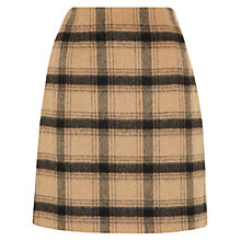 Buy Hobbs Josie Skirt, Camel Black Online at johnlewis.com