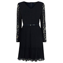 Buy Coast Filippa Lace Dress, Navy Online at johnlewis.com