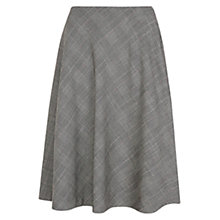 Buy Hobbs Hallie Skirt, Grey Multi Online at johnlewis.com