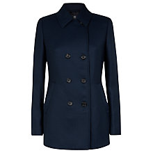 Buy Aquascutum, Twill Peacoat Online at johnlewis.com