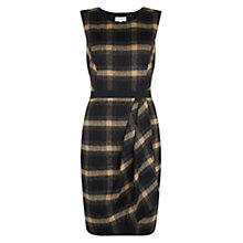 Buy Hobbs Josephine Dress, Black Camel Online at johnlewis.com