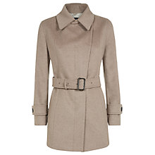 Buy Aquascutum Opie Great Coat, Beige Online at johnlewis.com