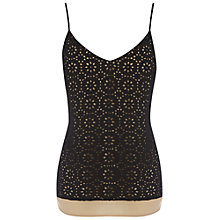 Buy Wishbone Charlie Broderie Cami, Black Online at johnlewis.com