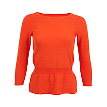 Buy Miss Selfridge Peplum Jumper Online at johnlewis.com