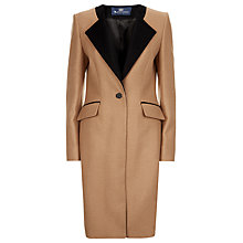 Buy Aquascutum Eugene Wool Coat, Camel Online at johnlewis.com
