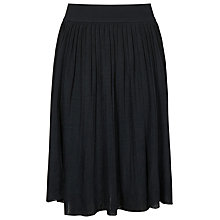 Buy Reiss Shar Pleated Knit Skirt, Lux Navy Online at johnlewis.com