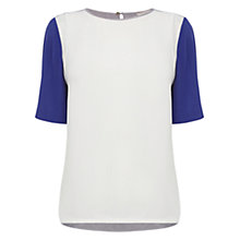 Buy Wishbone Carmen Colour Block Top, Multi Online at johnlewis.com