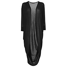 Buy Phase Eight Cocoon Cardigan, Black Online at johnlewis.com