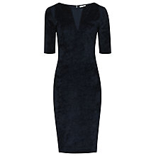 Buy Reiss Hailey Velvet Dress,  Midnight Online at johnlewis.com