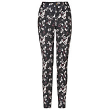 Buy Phase Eight Zoe Floral Trousers, Grey/Black Online at johnlewis.com