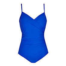 Buy John Lewis Cross Front Control Swimsuit Online at johnlewis.com