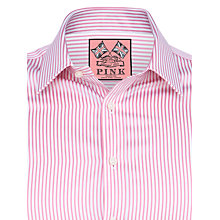 Buy Thomas Pink Kenneth Stripe Double Cuff Shirt Online at johnlewis.com