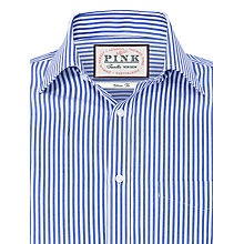 Buy Thomas Pink Brookland Stripe Classic Fit Shirt, Blue/White Online at johnlewis.com