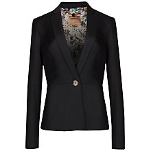 Buy Ted Baker Mohair Suit Jacket, Charcoal Online at johnlewis.com