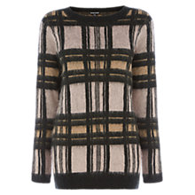 Buy Warehouse Brushed Check Jumper, Multi Online at johnlewis.com