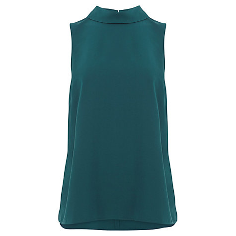 Buy Coast Queens Shell Top, Forest Online at johnlewis.com