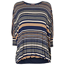 Buy Phase Eight Cecily Stripe Top, Multi Coloured Online at johnlewis.com