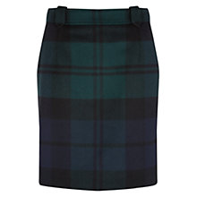 Buy NW3 by Hobbs Moira Skirt, Navy Multi Online at johnlewis.com