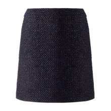 Buy Jigsaw Tweed Skirt, Blackberry Online at johnlewis.com