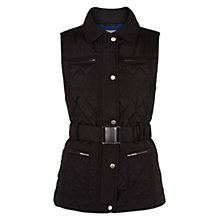 Buy Hobbs London Melody Gilet, Black Bluebell Online at johnlewis.com