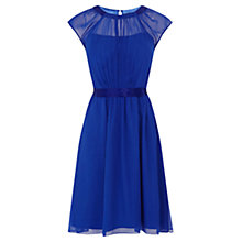 Buy Coast Ionia Short Dress, Colbalt Blue Online at johnlewis.com