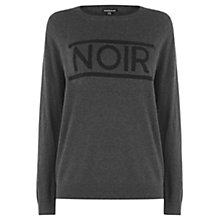 Buy Warehouse Noir Jumper, Dark Grey Online at johnlewis.com