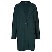 Buy Phase Eight Clare Crombie Coat, Forest Online at johnlewis.com