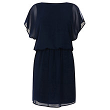 Buy Warehouse Scoop Back Dress with Multi-Strap Detailing, Navy Online at johnlewis.com