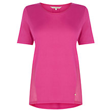 Buy Wishbone Elodie T-Shirt, Powder Pink Online at johnlewis.com