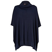 Buy Phase Eight Petula Poncho, Navy Online at johnlewis.com