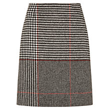 Buy Hobbs London Raven Skirt, Grey Multi Online at johnlewis.com