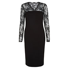 Buy Hobbs Invitation Joelle Dress, Black Online at johnlewis.com