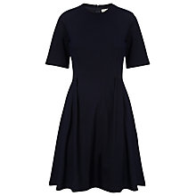 Buy Whistles Brie Flippy Skater Dress, Navy Online at johnlewis.com
