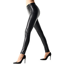 Buy Wolford Estella Leggings, Black Online at johnlewis.com