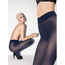 Buy Wolford 50 Denier Pure Tights, Navy Online at johnlewis.com