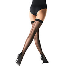 Buy Wolford 15 Denier Flavia Hold-Ups, Black Online at johnlewis.com