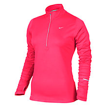 Buy Nike Element Half Zip Running Top, Hyper Punch Online at johnlewis.com