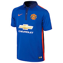 Buy Nike Manchester United Third Replica Junior Football Shirt 2014/15, Old Royal Online at johnlewis.com