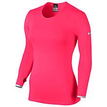 Buy Nike Pro Hyperwarm Fitted 3.0 Long Sleeve Top Online at johnlewis.com