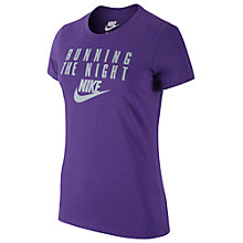 Buy Nike Running The Night T-Shirt Online at johnlewis.com