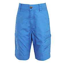 Buy John Lewis Boy Cargo Shorts, Cobalt Blue Online at johnlewis.com