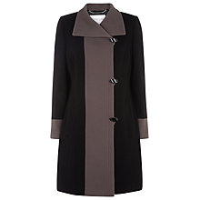 Buy Windsmoor Galaxy Contrast Coat, Black Online at johnlewis.com