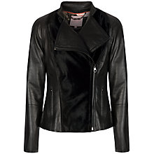 Buy Ted Baker Ponyee Jacket, Black Online at johnlewis.com