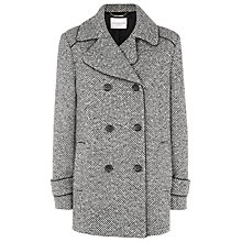 Buy Windsmoor Multi-Tone Tweed Coat, Black Online at johnlewis.com