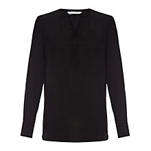 Buy Damsel in a dress Signature Blouse, Black Online at johnlewis.com