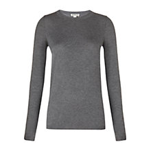 Buy Whistles Annie Sparkle Knit, Grey Online at johnlewis.com