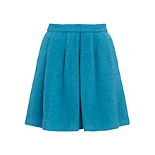 Buy Whistles Lara Boucle Skater Skirt, Blue Online at johnlewis.com