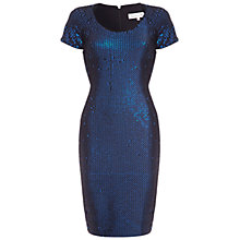 Buy Damsel in a dress Albury Dress, Blue/Black Online at johnlewis.com