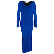 Buy Damsel in a dress Cloverly Court Dress, Black/Blue Online at johnlewis.com