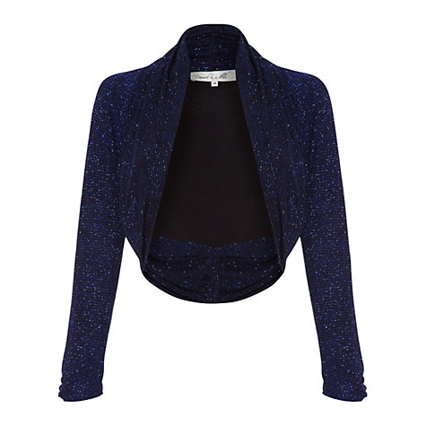 Buy Damsel in a dress Obsession Shrug, Blue/Black Online at johnlewis.com